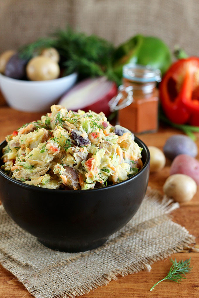 Vegan Potato Salad 5 Vegan Potato Salad Recipes That Are Summer Ready • The