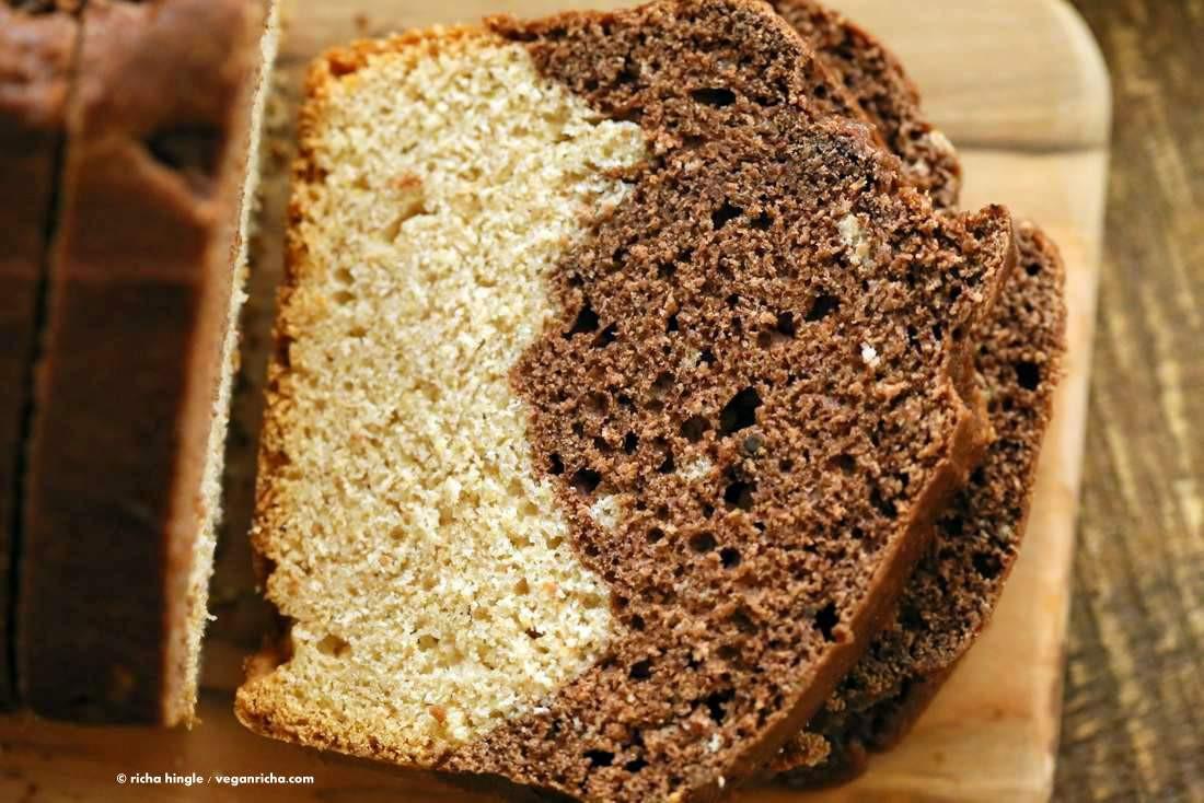 Vegan Pound Cake  Vegan Cream Cheese Pound Cake Vegan Richa