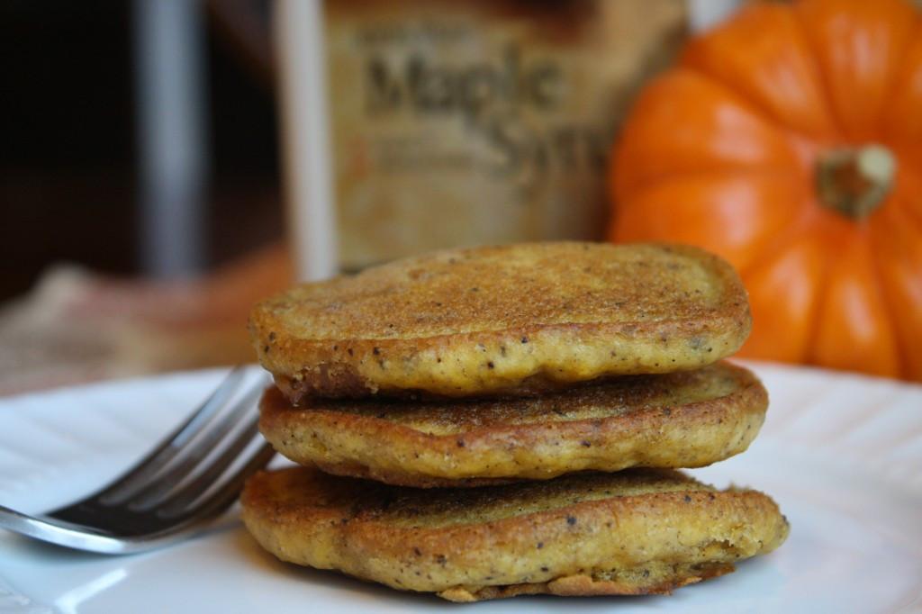 Vegan Pumpkin Pancakes  Gluten Free Vegan Pumpkin Pancakes