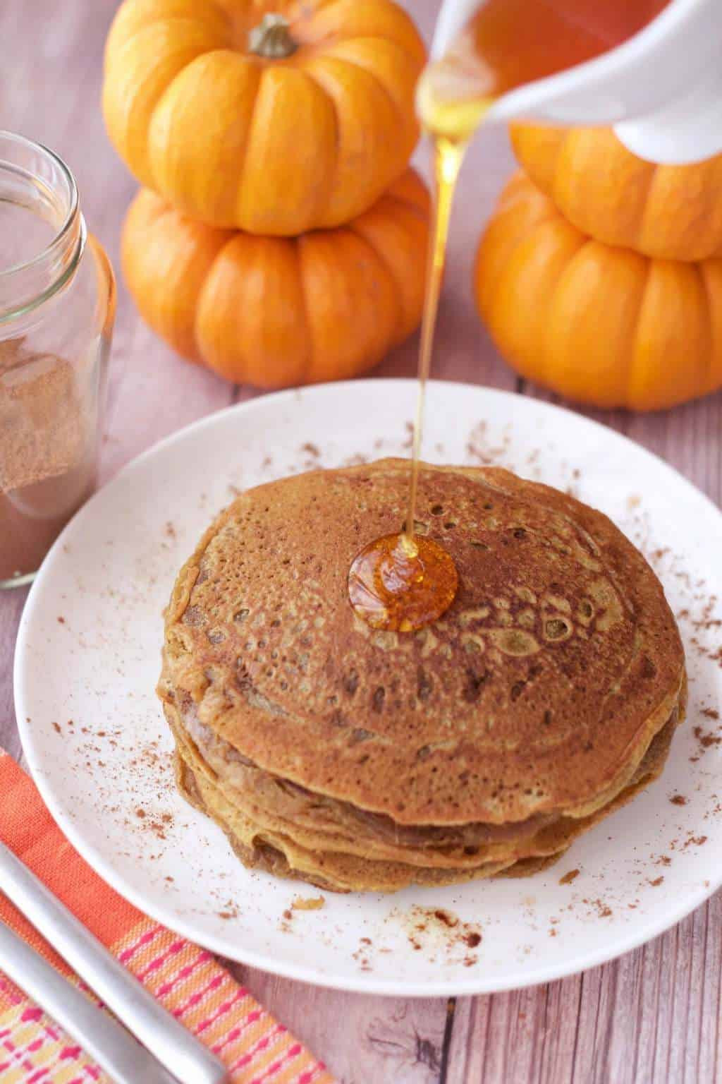 Vegan Pumpkin Pancakes  Vegan Pumpkin Pancakes Loving It Vegan