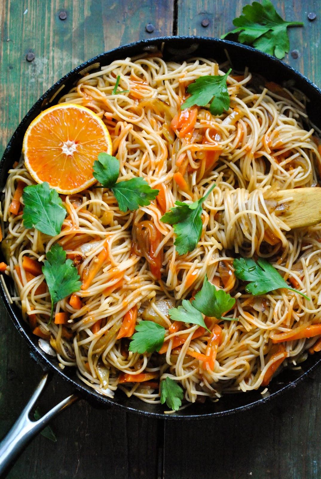 Vegan Recipes Easy  Quick and easy vegan noodle stir fry VeganSandra