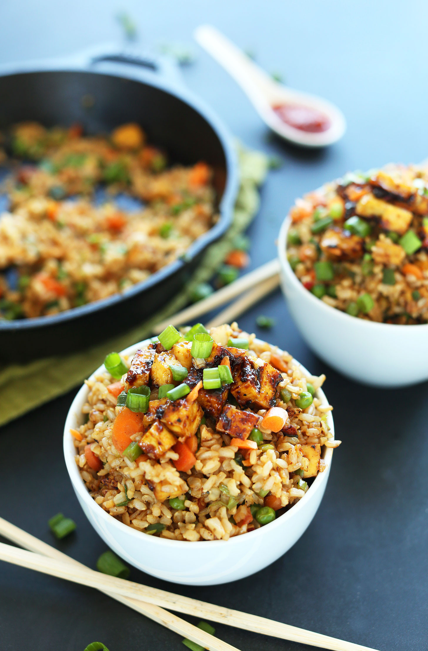 Vegan Recipes Easy  Vegan Fried Rice