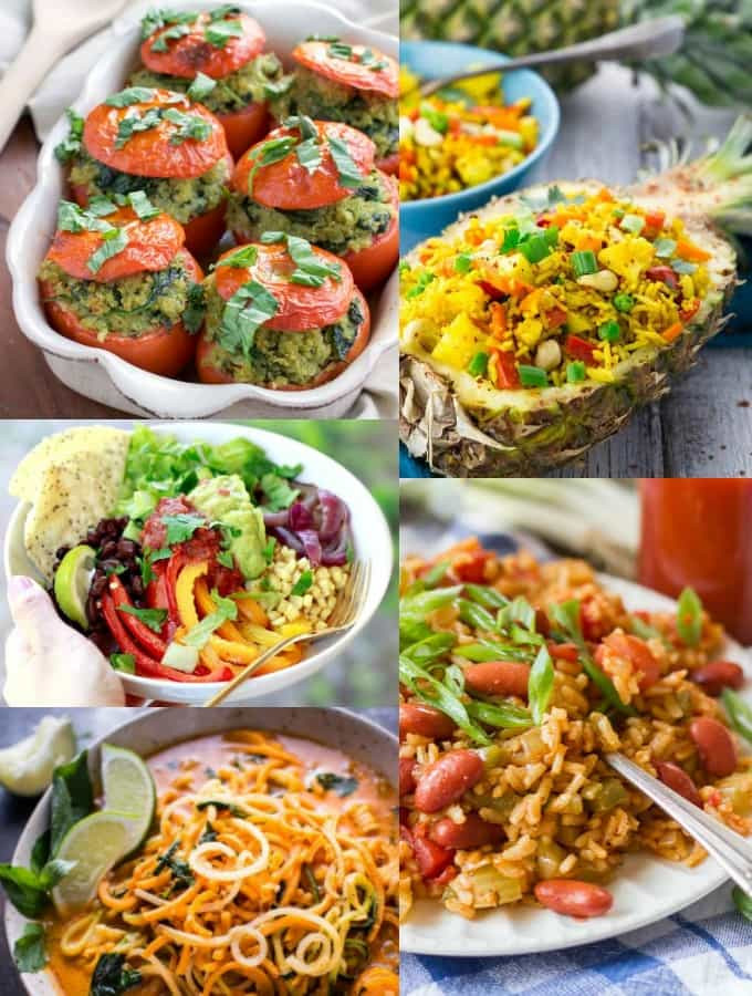 Vegan Recipes For Dinner  ve arian recipes easy