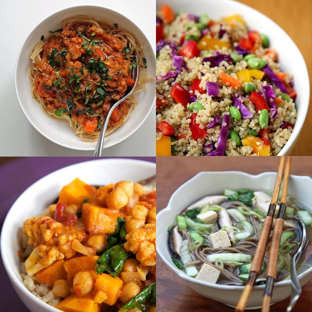 Vegan Recipes For Dinner  Healthy Vegan Dinner Recipes
