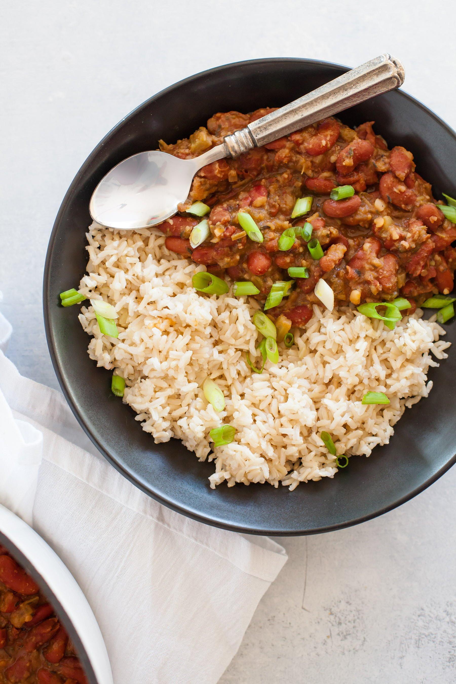 Vegan Red Beans And Rice  Vegan Red Beans and Rice Wholefully