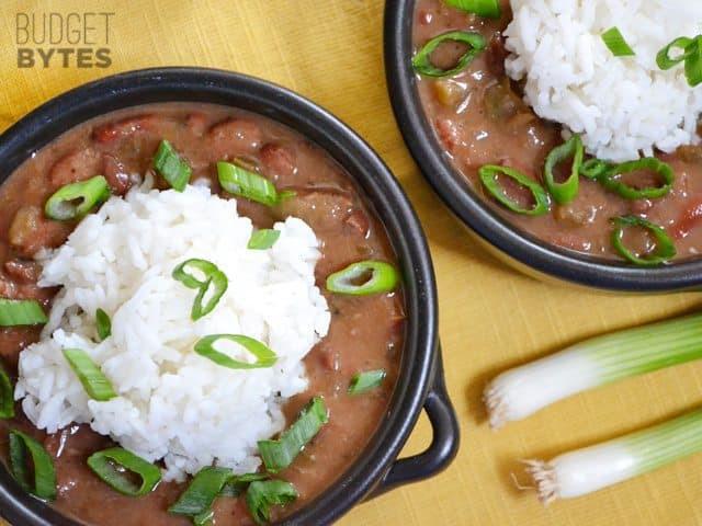 Vegan Red Beans And Rice  Vegan Red Beans and Rice Bud Bytes