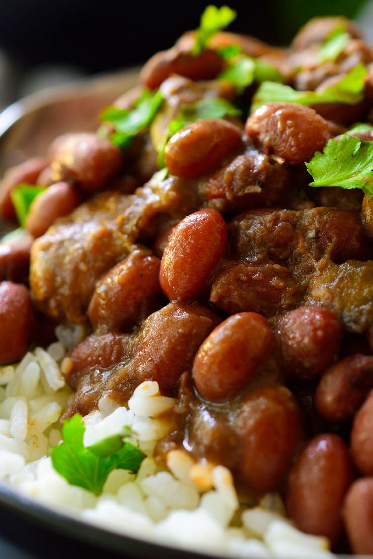 Vegan Red Beans And Rice  Vegan Red Beans and Rice with Smoky Mushrooms