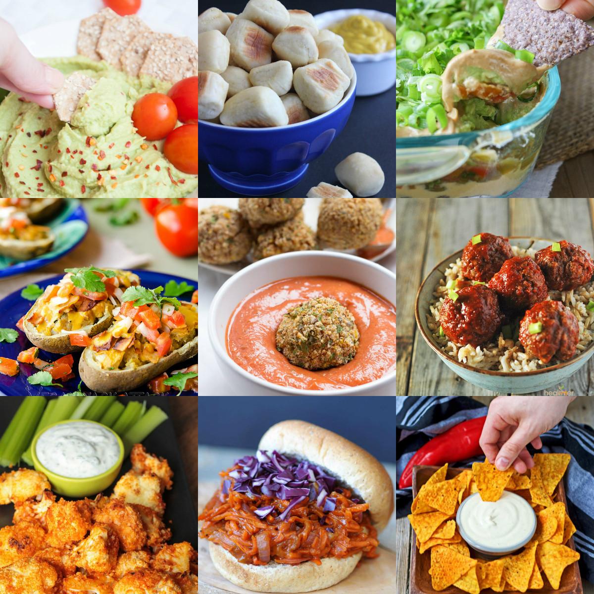 Vegan Snacks Recipes  35 Vegan Super Bowl Recipes