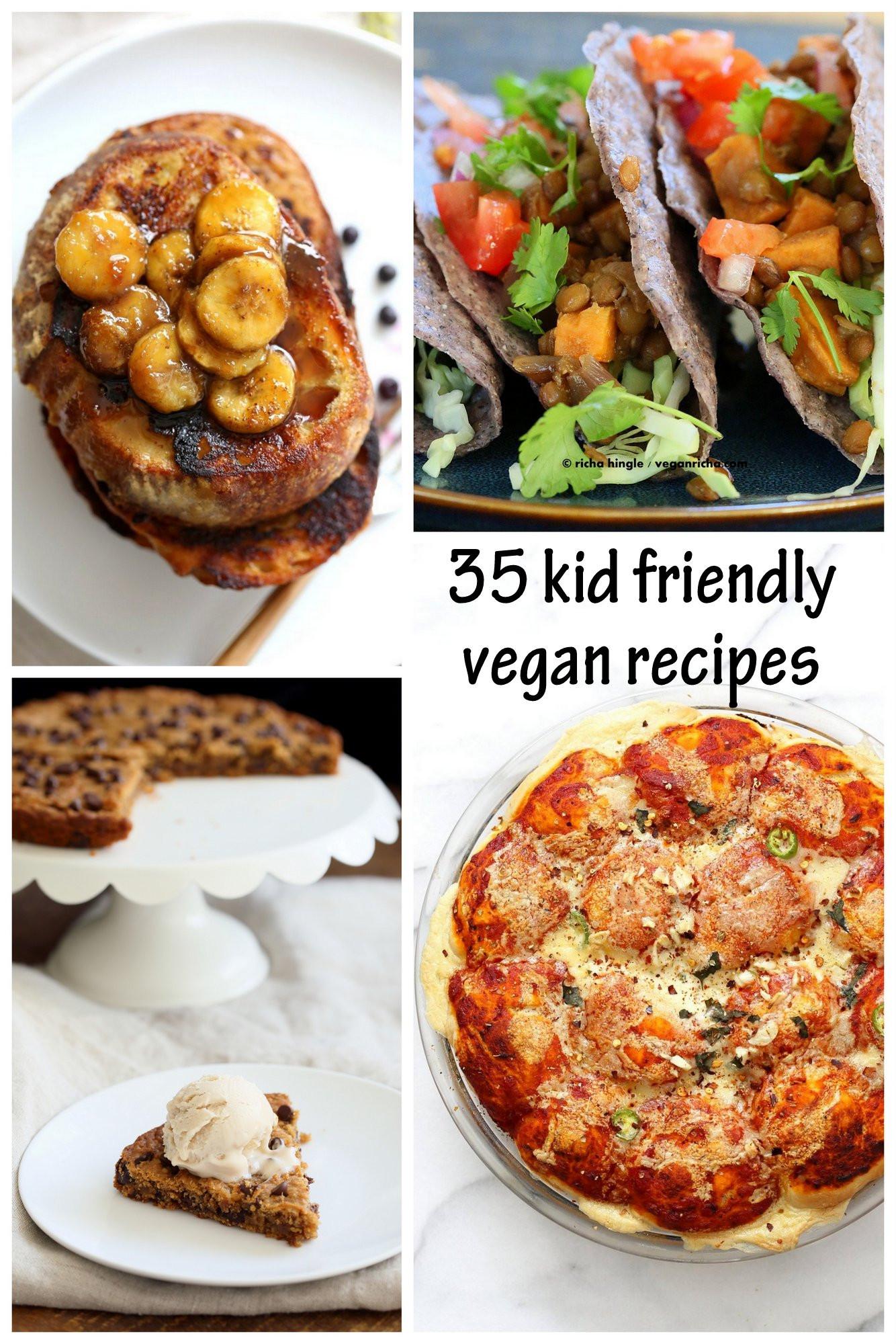 Vegan Snacks Recipes  35 Kid Friendly Vegan Recipes Vegan Richa
