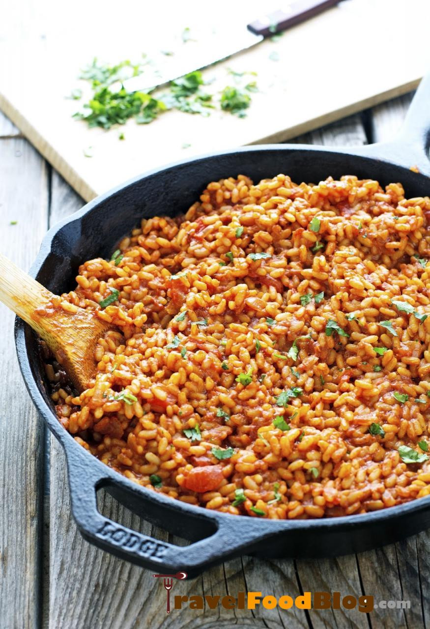 Vegan Spanish Rice  Vegan Easy Flavorful Spanish Rice TravelFoodBlog