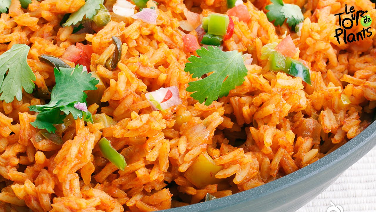 Vegan Spanish Rice  Spanish Rice Mexican Rice Using a Rice Cooker Fat Free