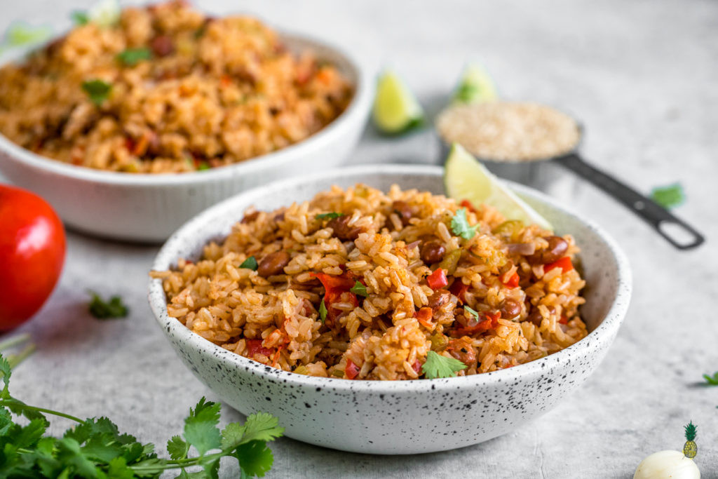 Vegan Spanish Rice  Vegan Spanish Rice and Beans