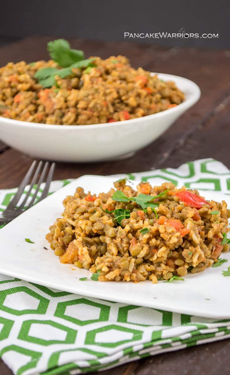 Vegan Spanish Rice  Vegan Mexican Rice and Lentils
