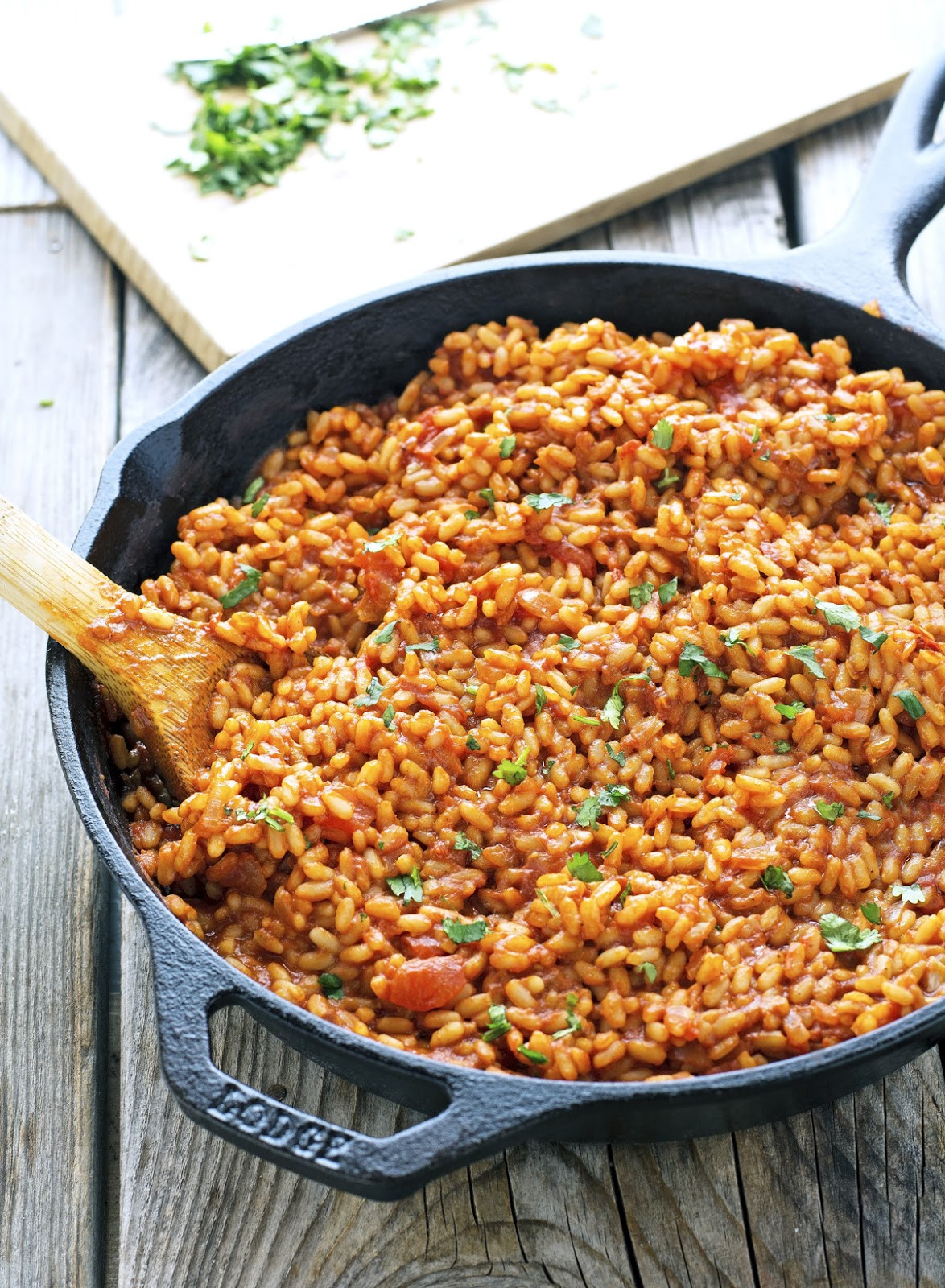 Vegan Spanish Rice  The Iron You Vegan Easy Flavorful Spanish Rice