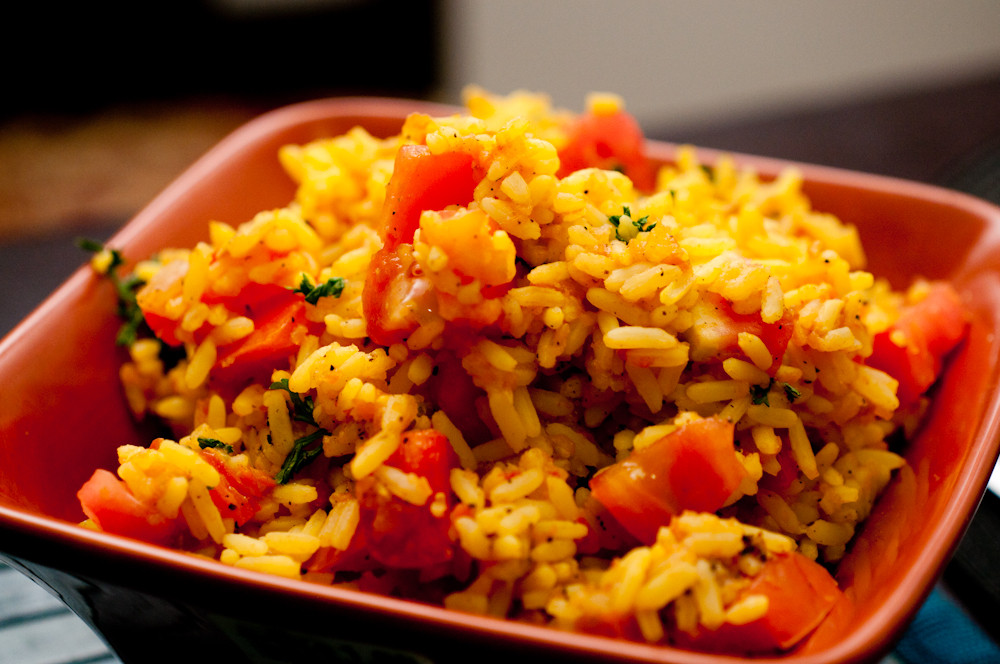 Vegan Spanish Rice  Tapas Week Spanish Rice