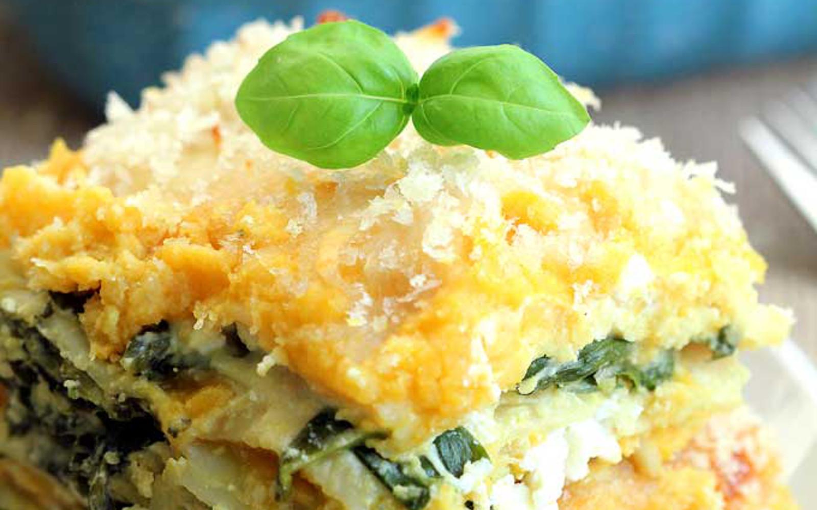 Vegan Squash Recipes  Butternut Squash Lasagna [Vegan] e Green Planet e