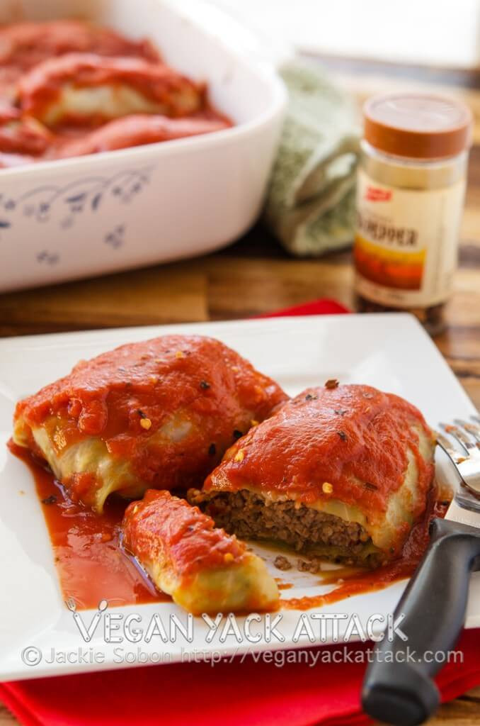 Vegan Stuffed Cabbage  8 Best Vegan Blogs Delicious Vegan Recipes