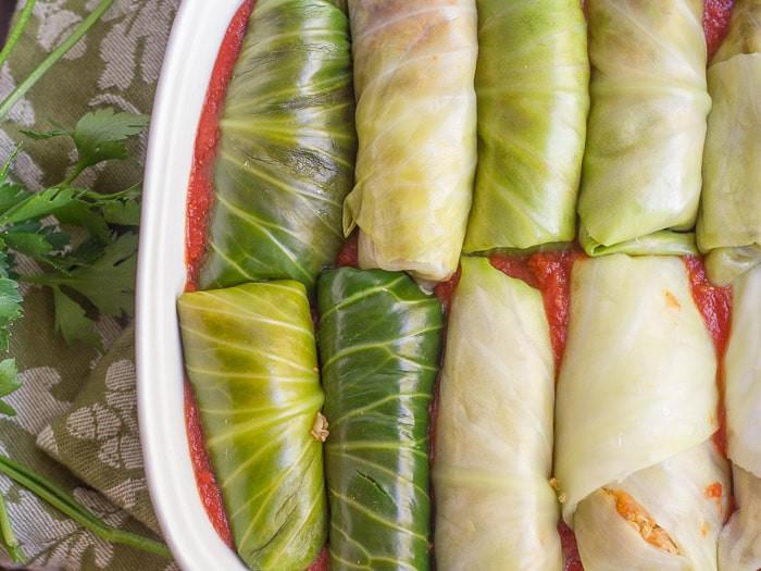 Vegan Stuffed Cabbage  Quinoa & Lentil Stuffed Vegan Cabbage Rolls