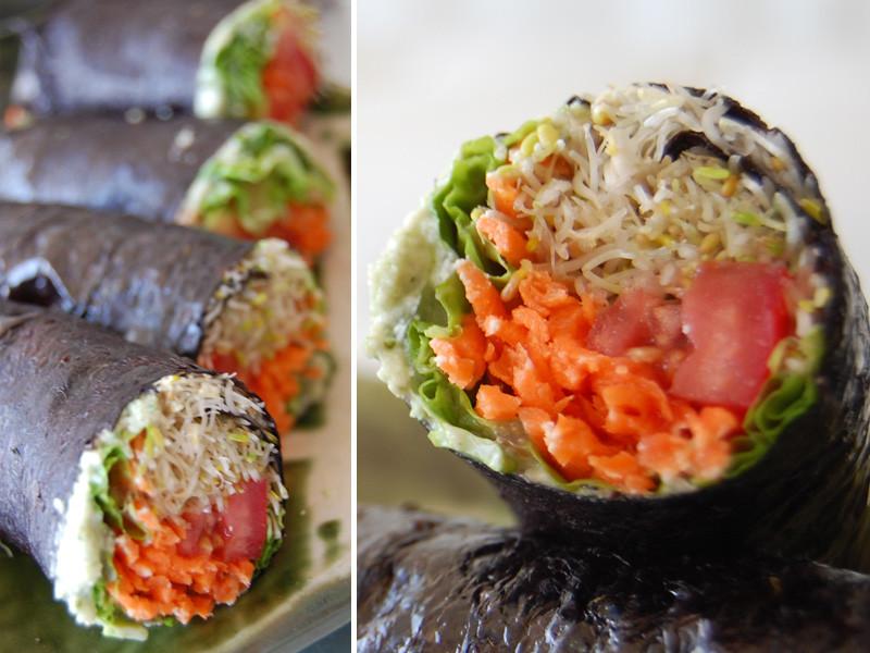 Vegan Sushi Recipes  Raw Vegan Sushi Recipe
