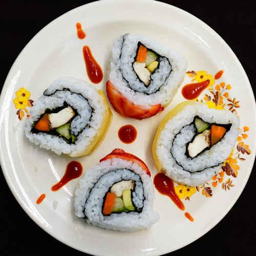 Vegan Sushi Recipes  Vegan Avocado Tofu Sushi Rolls Recipe Sushi Chay