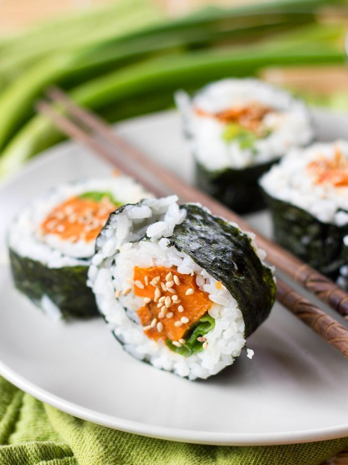 Vegan Sushi Recipes  25 best ideas about Ve arian sushi rolls on Pinterest
