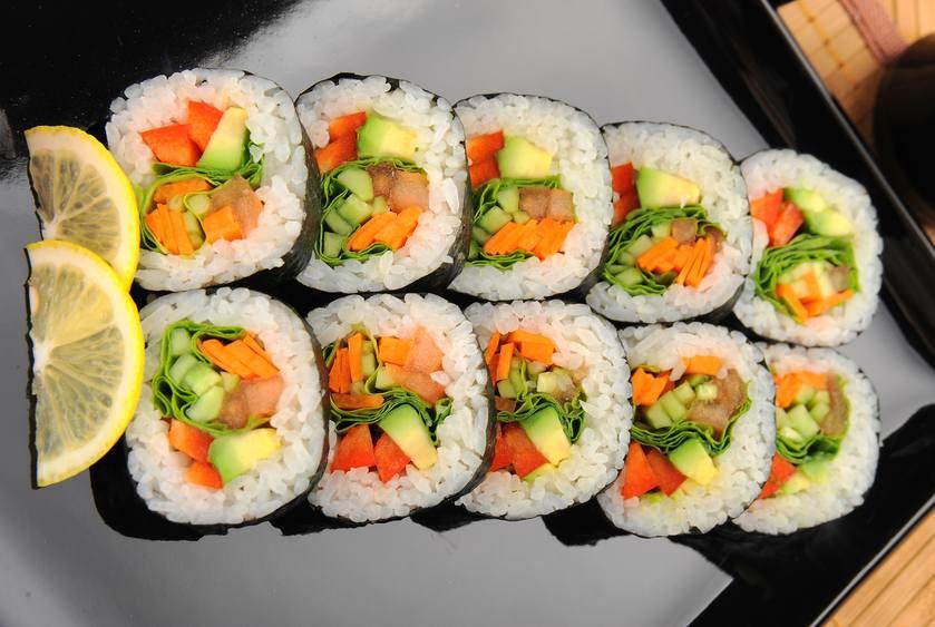 Vegan Sushi Recipes  Ve arian sushi