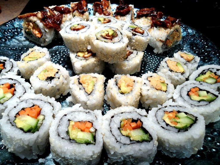 Vegan Sushi Recipes  17 Best images about I can make Sushi on Pinterest