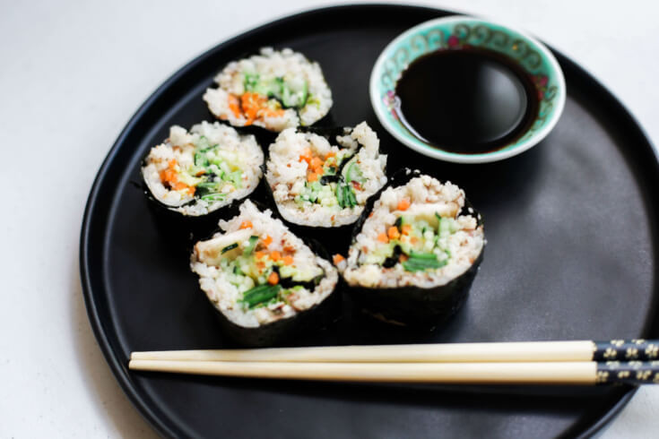 Vegan Sushi Recipes  Vegan Sushi Recipe Dr Axe