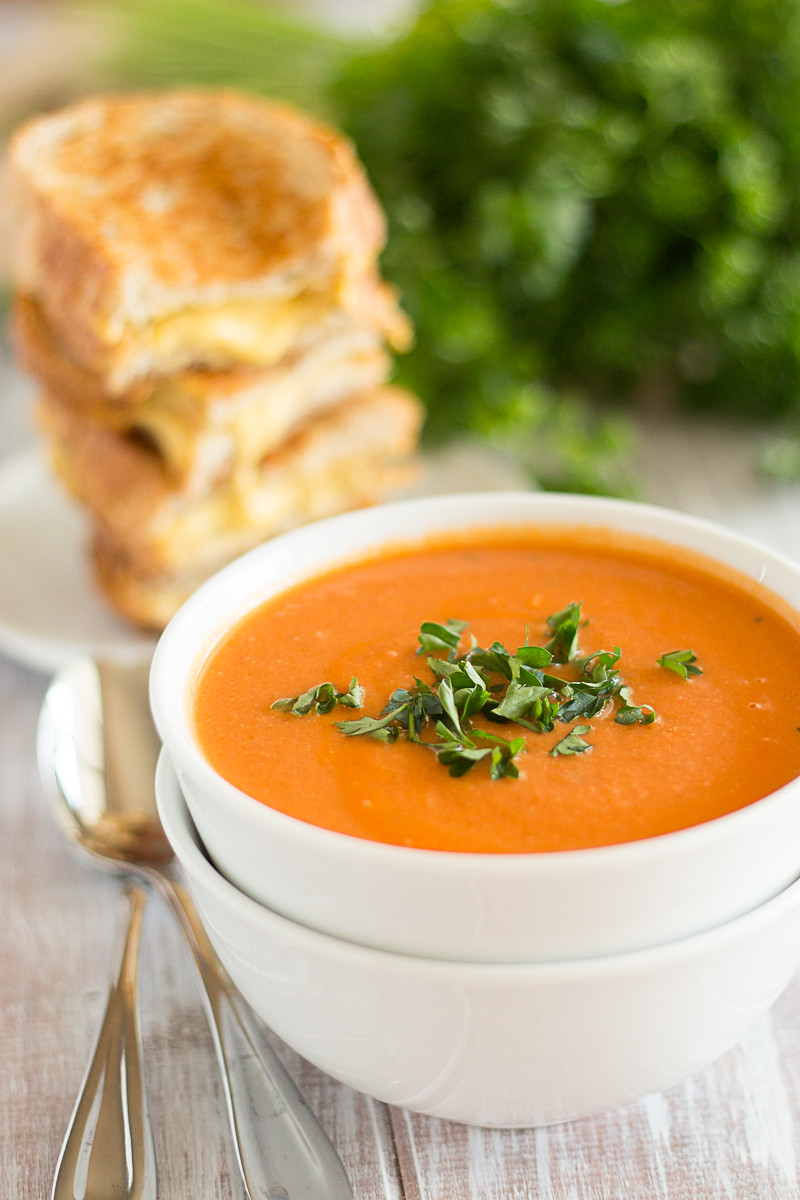 Vegan Tomato Soup  Creamy Tomato Soup Vegan Yumminess