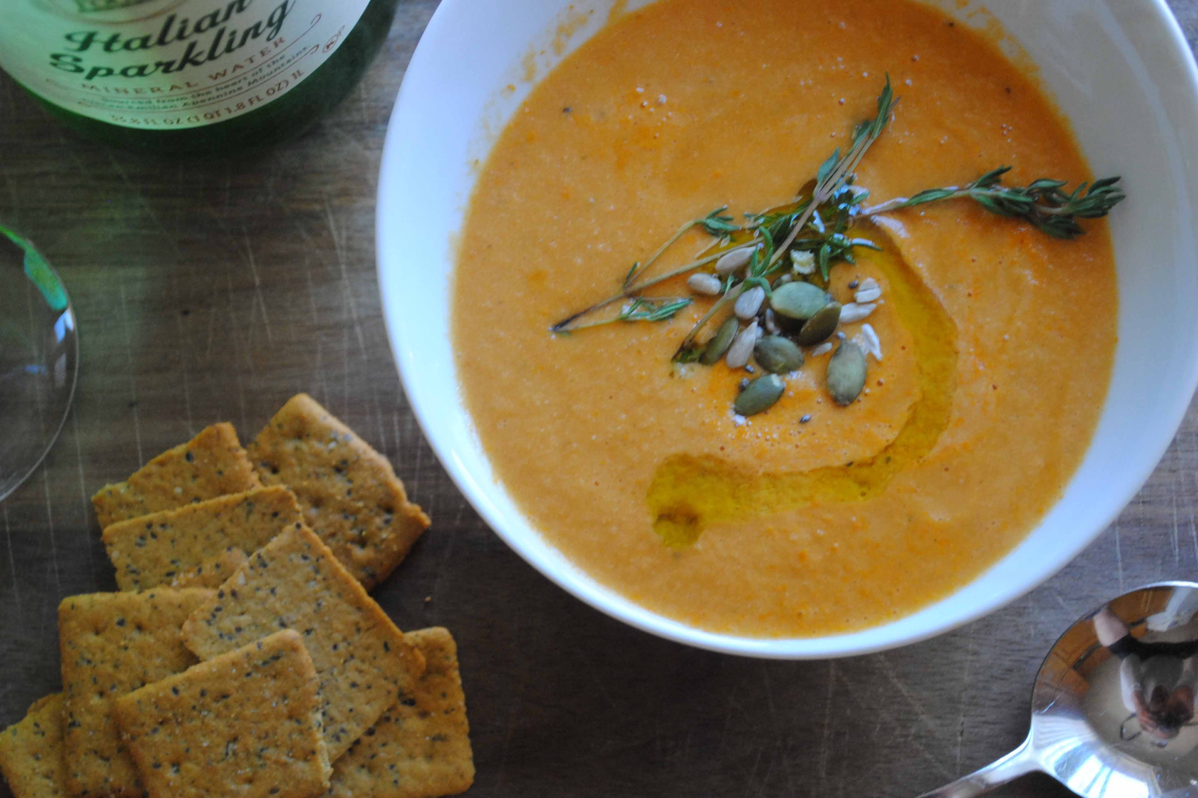 Vegan Tomato Soup  Super Easy Super Delicious Vegan Tomato Soup