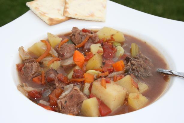 Vegetable Beef Soup Crock Pot  Crock Pot Beef Ve able Soup Recipe Food