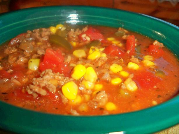 Vegetable Beef Soup Crock Pot  Crock Pot Easy Ve able Beef Soup Recipe Food