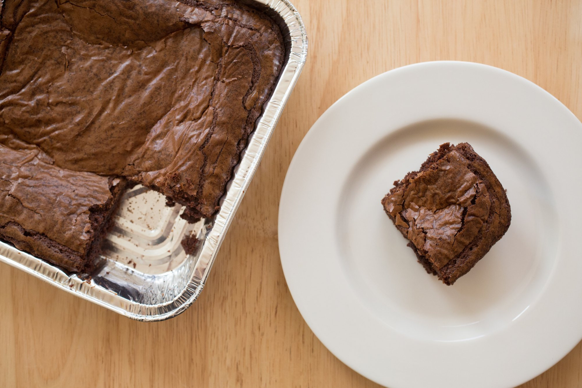 Vegetable Oil Substitute For Brownies  Brownie recipe with cocoa powder or ve able oil