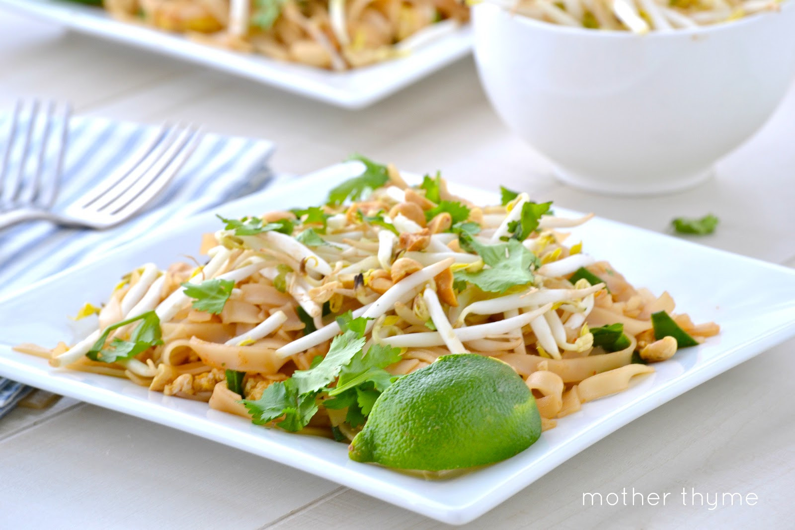 Vegetable Pad Thai  Ve able Pad Thai Mother Thyme