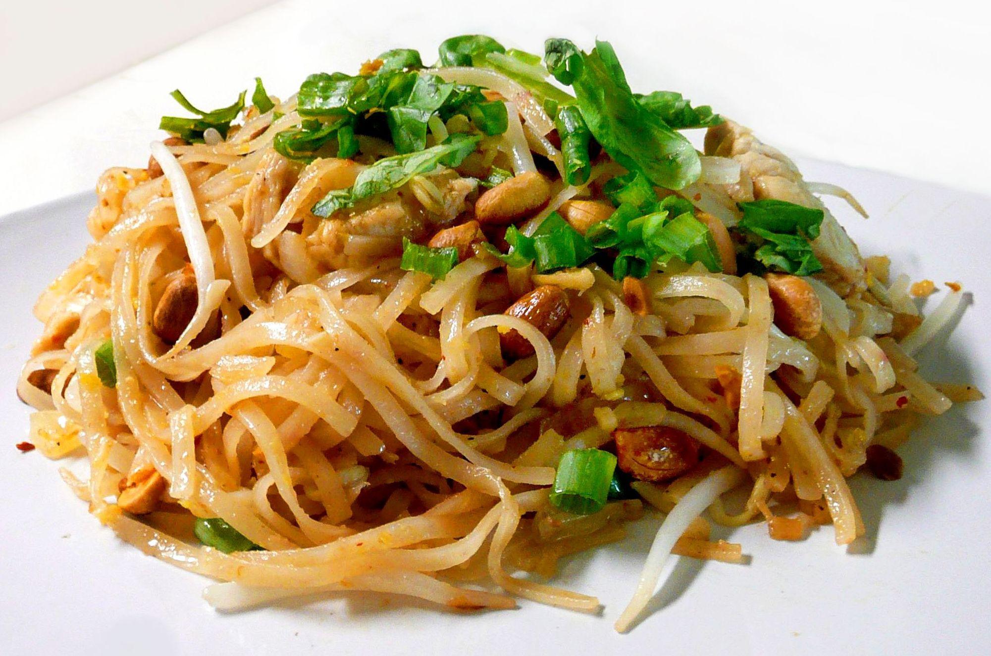 Vegetable Pad Thai  Ve able Pad Thai – FoodRasoi
