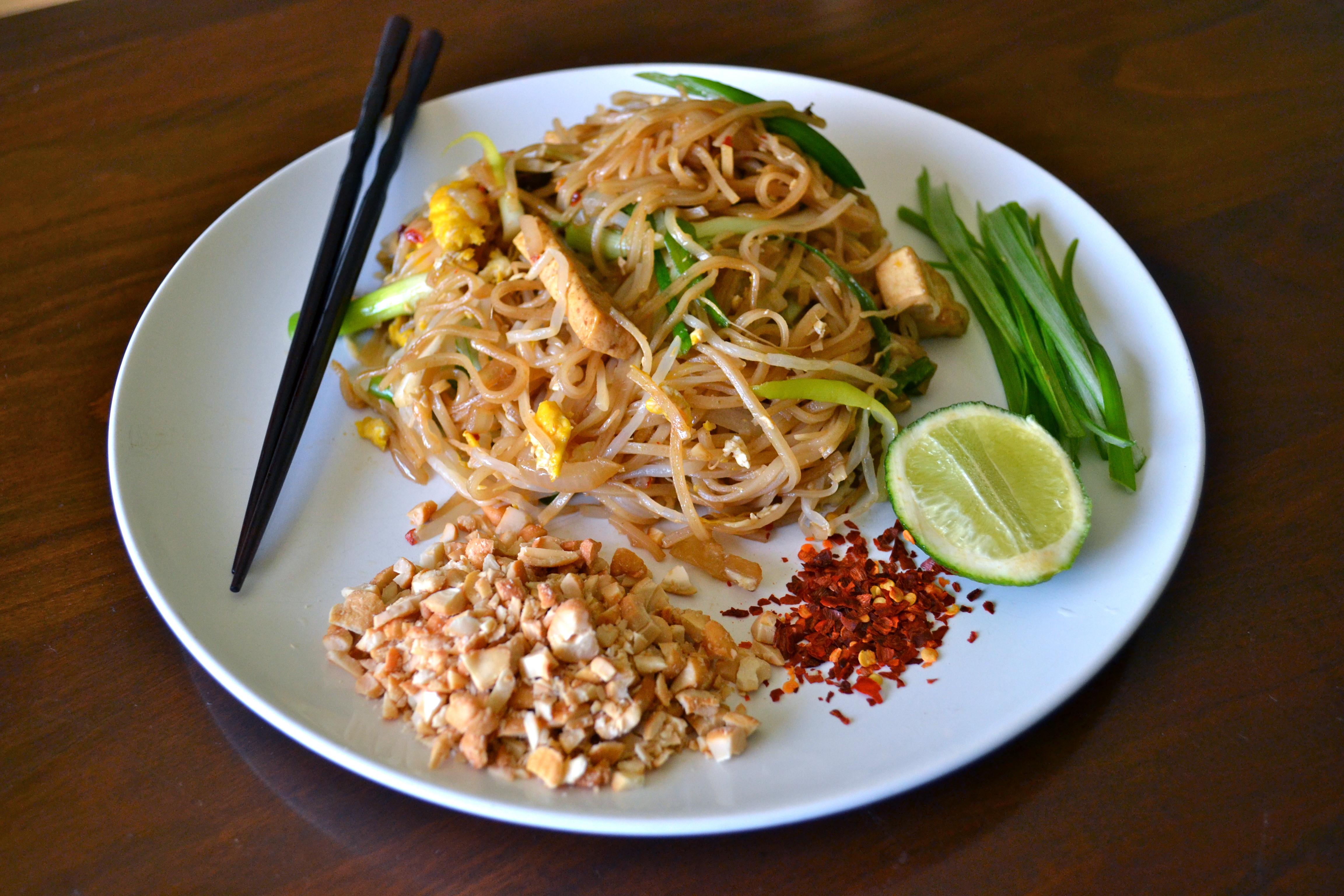 Vegetable Pad Thai  Ve arian pad thai
