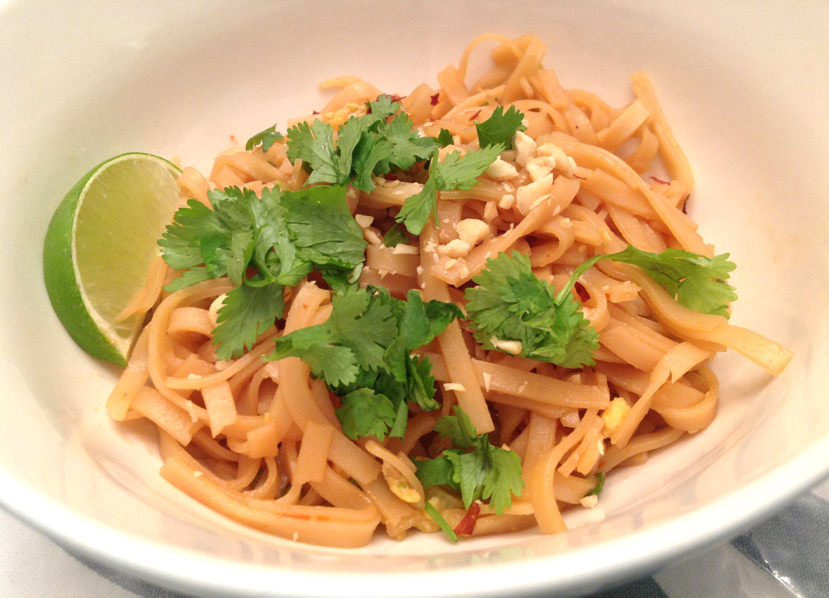 Vegetable Pad Thai  my back pages ve able pad thai
