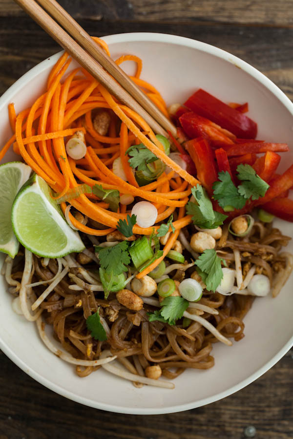 Vegetable Pad Thai  How to Make Ve arian Pad Thai at Home An Easy Recipe