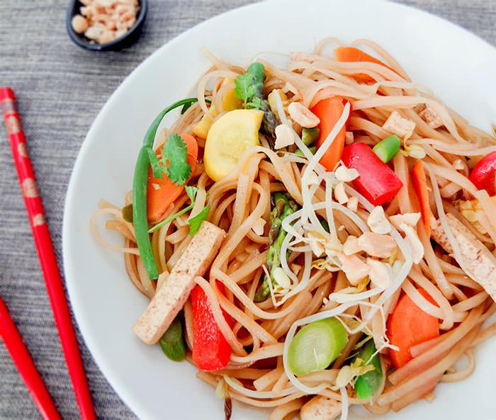 Vegetable Pad Thai  Ve arian Pad Thai Recipe