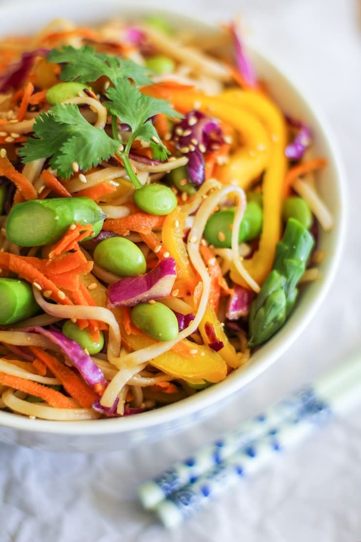 Vegetable Pad Thai  Spring Ve able Pad Thai