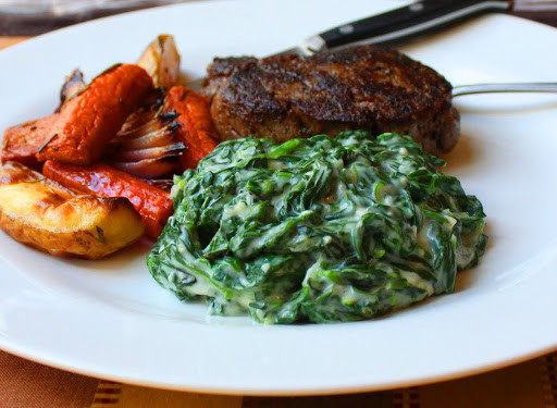 Vegetable Side Dish To Serve With Prime Rib  Food Wishes Video Recipes Creamed Spinach – King of the