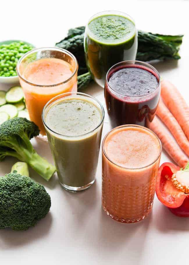 Vegetable Smoothie Recipes  5 Vitamin Packed Veggie Smoothie Recipes