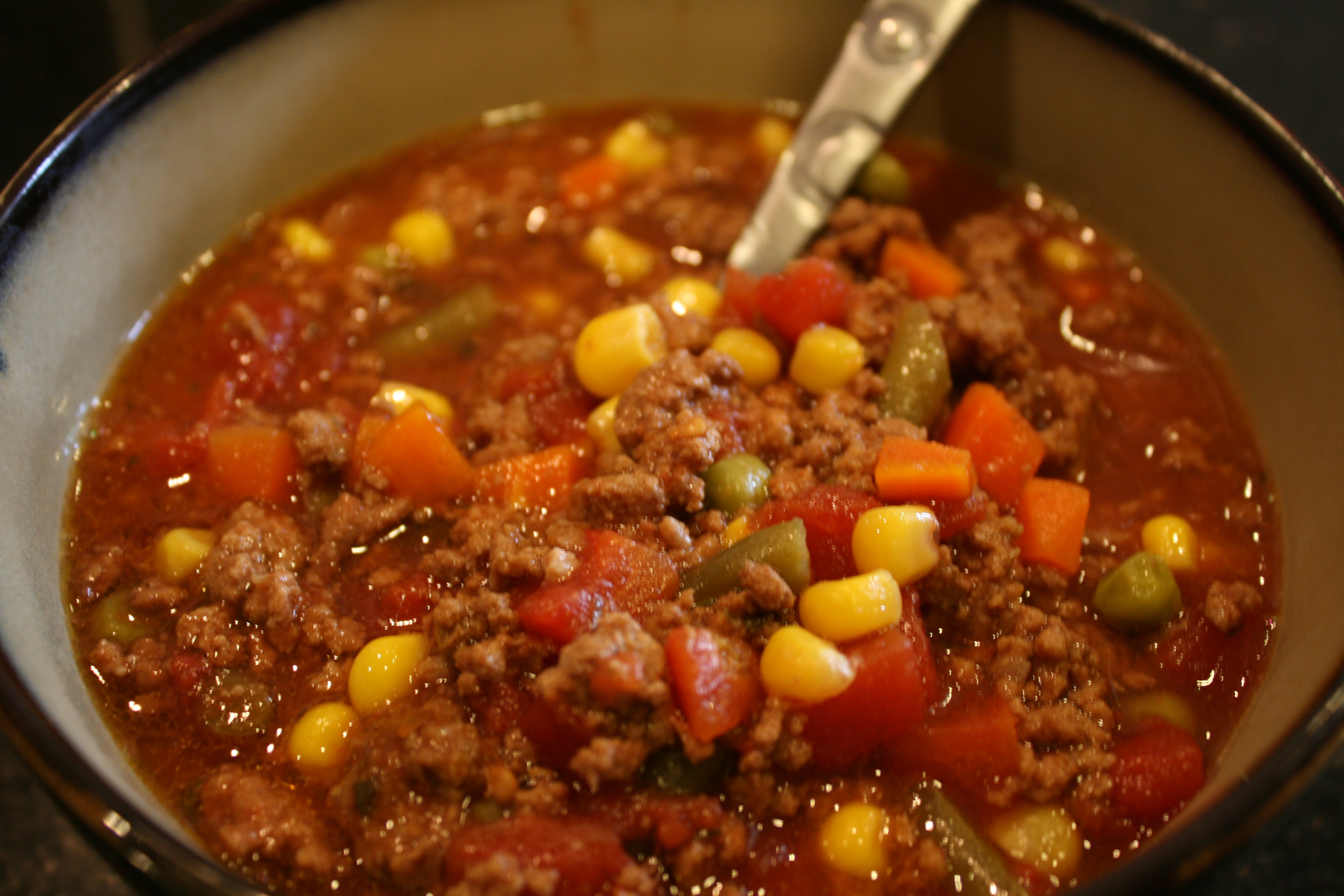 Vegetable Soup With Beef  17 Recipes With Less Than 250 Calories Mashoid