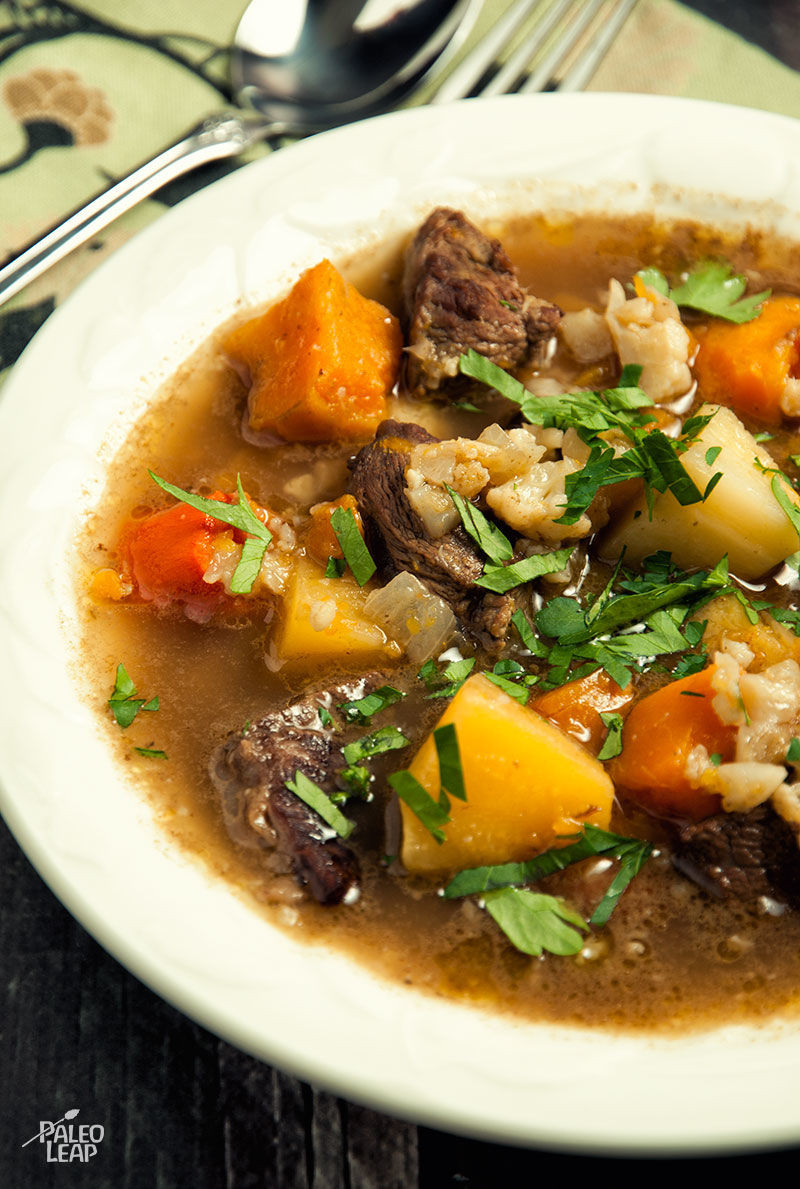 Vegetable Soup With Beef  Beef and Winter Ve able Soup