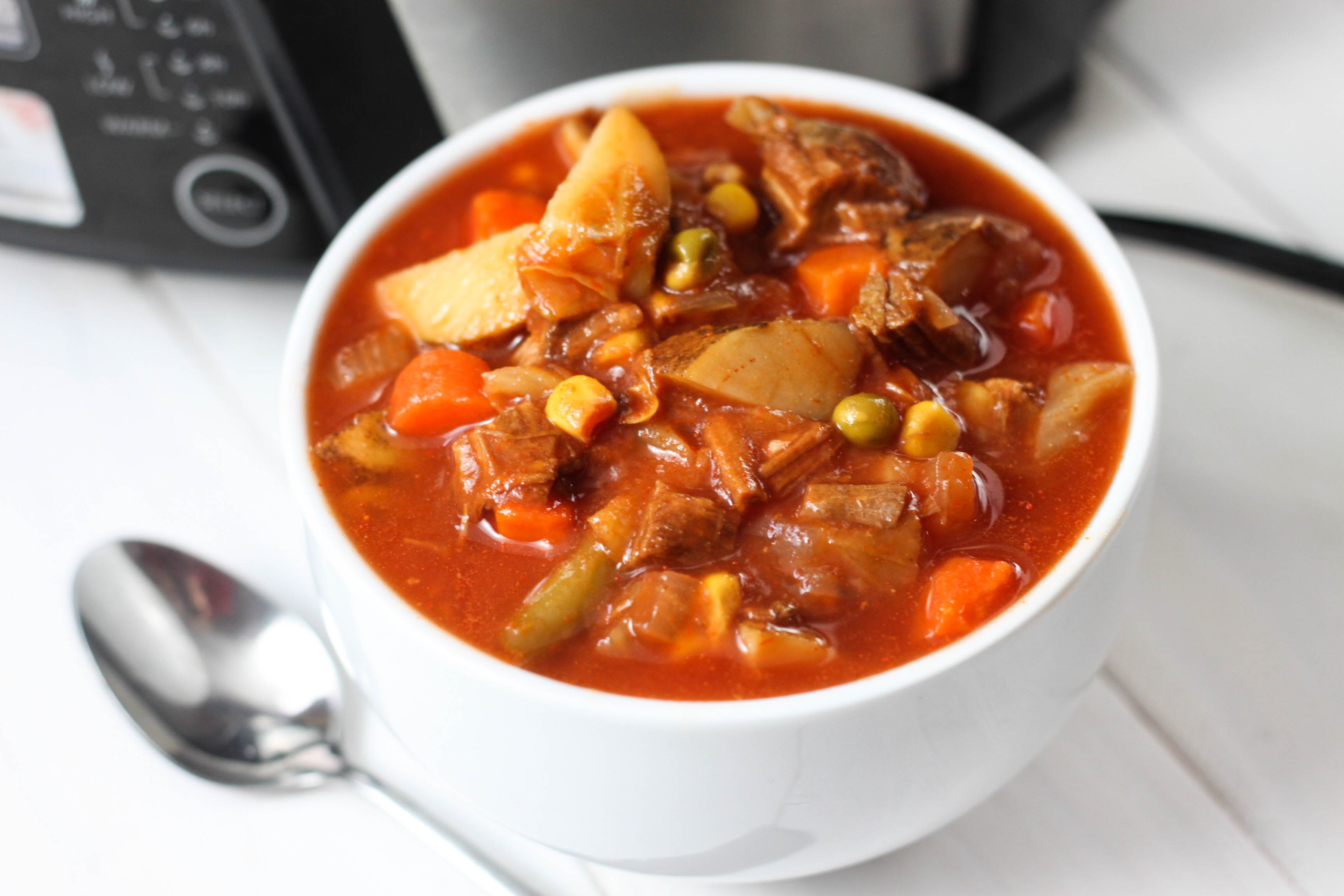 Vegetable Soup With Beef  Ve able Beef Soup The Farmwife Cooks