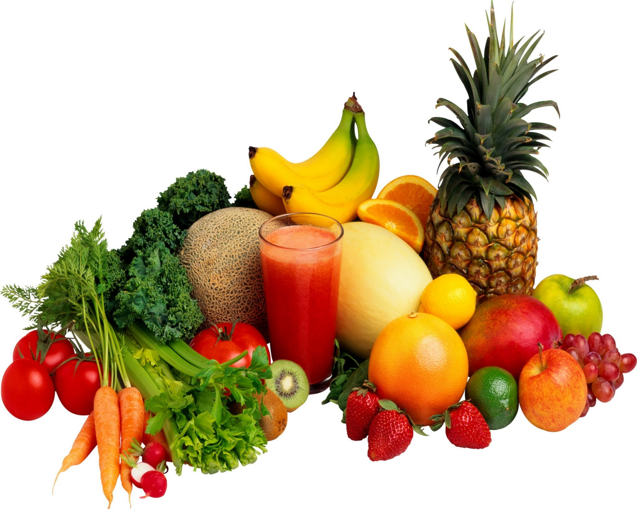Vegetables And Fruit Smoothies  Smoothie Ingre nts Fruits and Ve ables