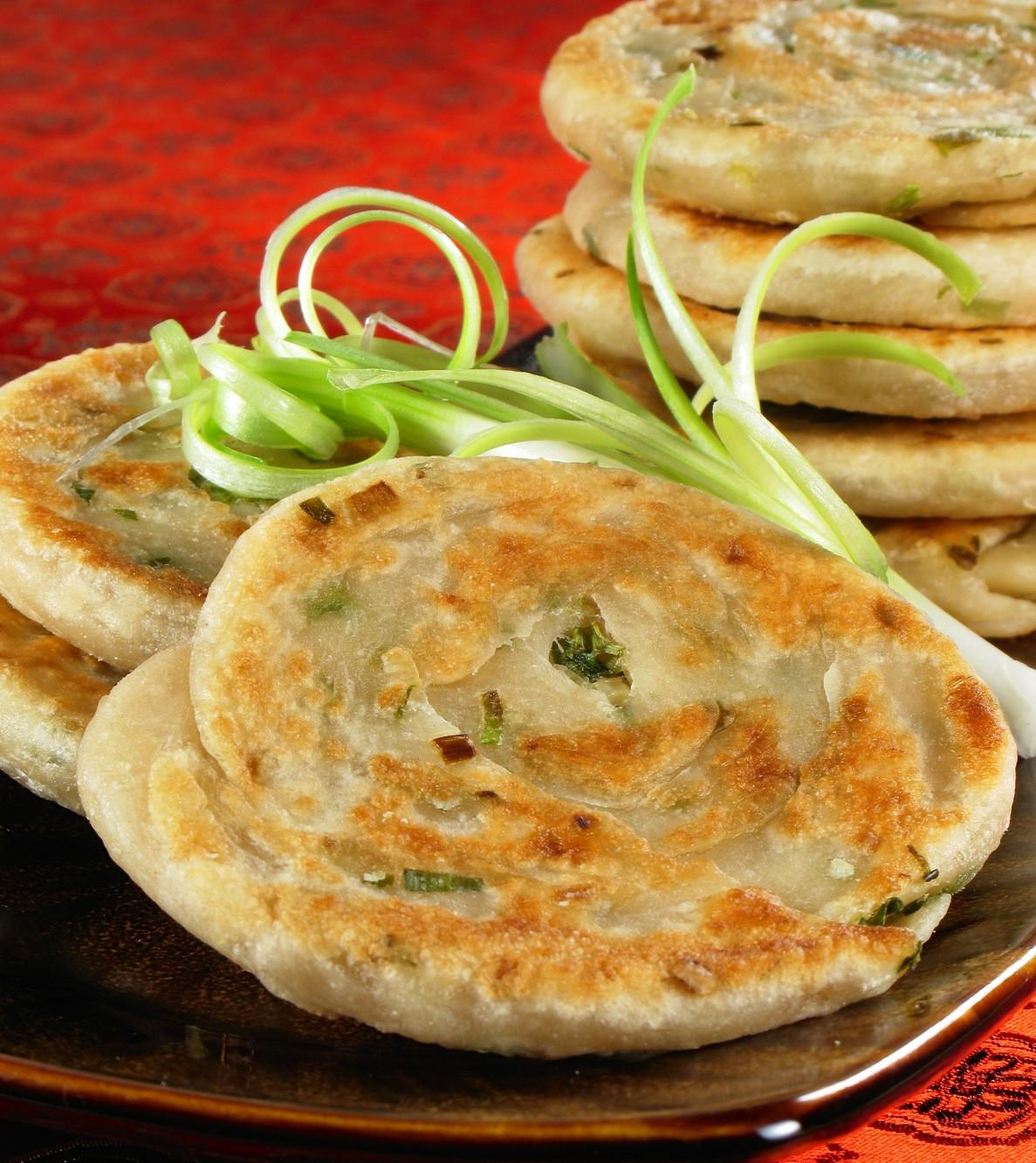 Vegetarian Appetizer Recipes  Scallion Pancakes