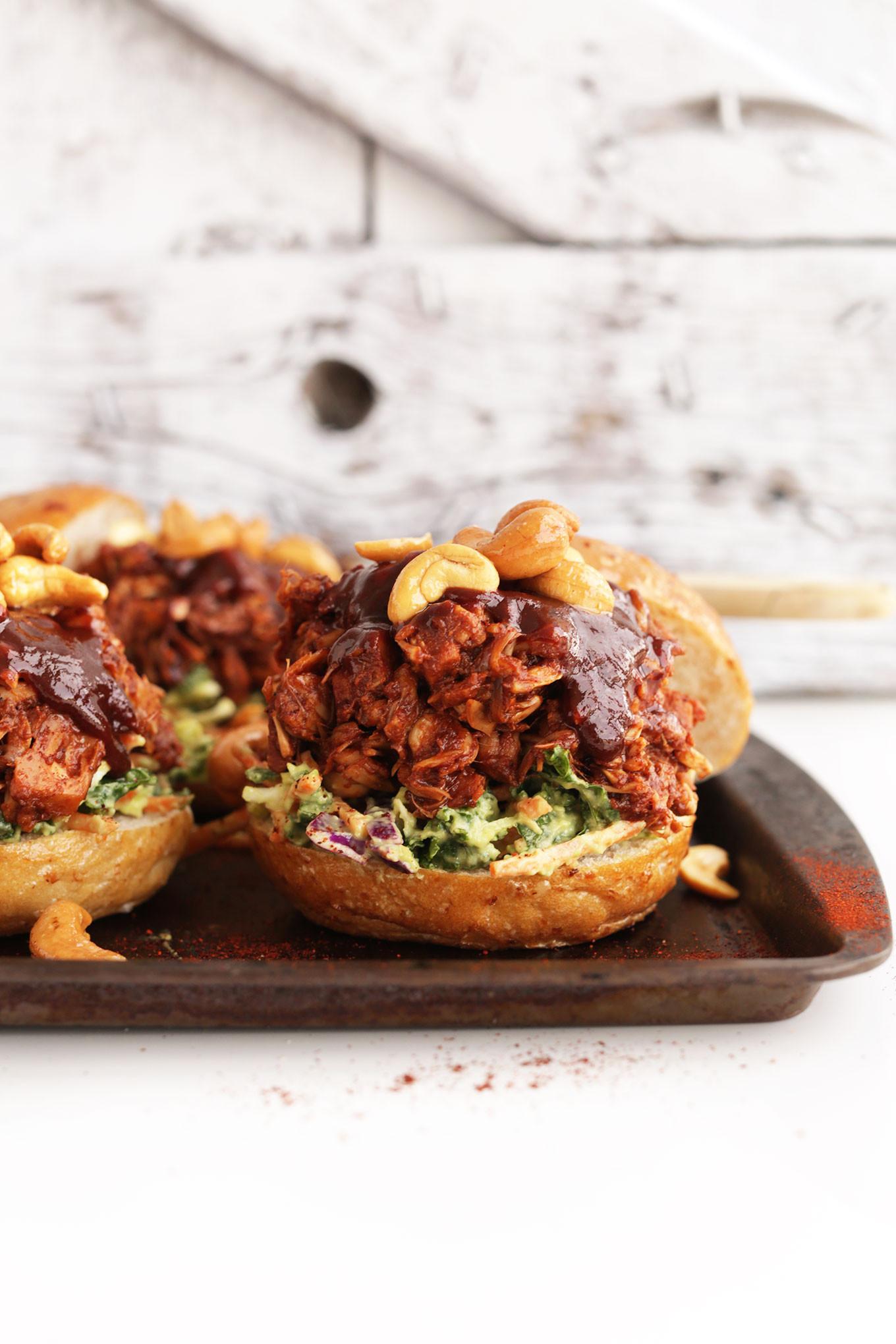 Vegetarian Bbq Recipes  BBQ Jackfruit Sandwiches