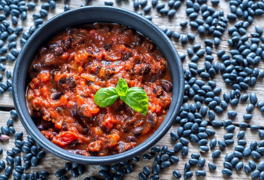 Vegetarian Black Bean Chili  Ve arian Black Bean Chili recipe