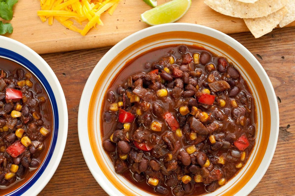 Vegetarian Black Bean Chili  8 Chili Recipes that Represent Different Chili Styles